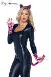 Leg Avenue Costumi Kit Leopardo Neon Set 3pz | LAA1974